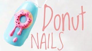 💅💅 Słodkie zdobienia 3D 💅💅 :: Donut :: Nailart by Natalia