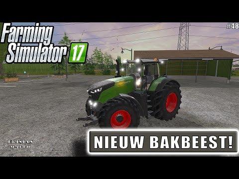 """""""NIEUW BAKBEEST!"""" FarmingSimulator 17 Frisian March #48"""