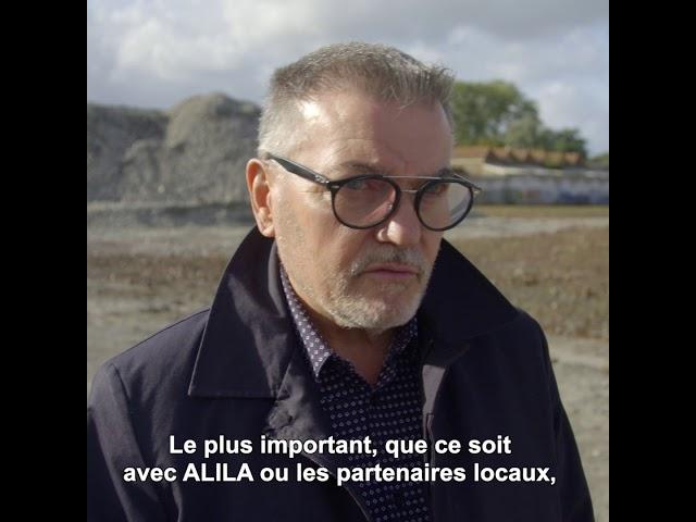 ALILA - Première pierre d'HALL'YS à Halluin (59) - Hervé DACLIN - Architecte ARCHIGROUP