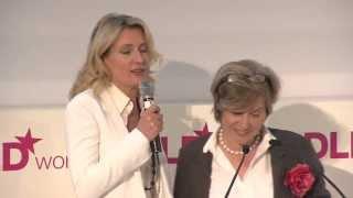 DLDwomen 2010 - Opening (Steffi Czerny, Maria Furtwängler-Burda)