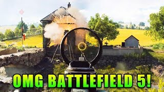 OMG Battlefield 5! - Live Gameplay with Matimi0 and Xfactor