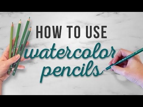 how-to-use-watercolor-pencils-|-tips-for-beginners-|-how-to-for-beginners