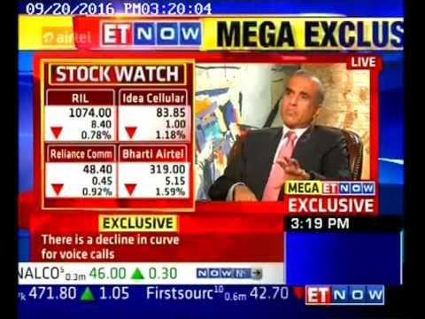 Sunil Bharti Mittal interview with ET NOW