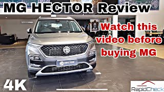 MG Hector Final Real Life Review || You need to watch this video before buying MG hector 🔥🔥🔥🔥