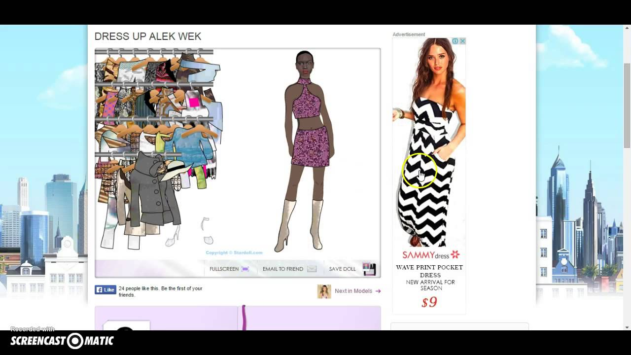Stardoll Dress Up Game Youtube