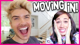 I Moved Into Colleens House!