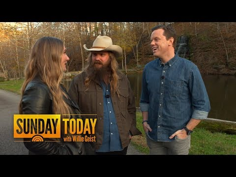 Hear How Chris Stapleton Wrote �y Doesn't Pray Anymore' In 10 Minutes | Sunday TODAY