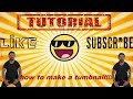 how to make a thumbnail