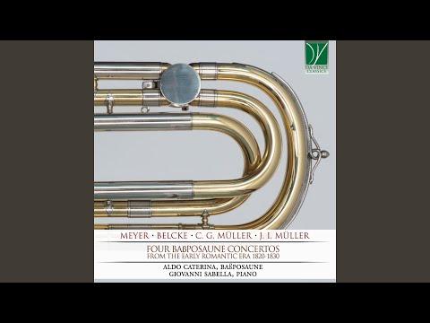 Concertino Für Bassposaune, Op. 40: II. Allegretto
