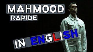 Gambar cover Mahmood - Rapide (English Translation)