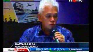Hatta Rajasa menjelaskan pembiayaan proyek MP3EI