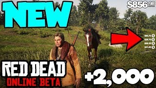 SOLO NEW Red Dead Online $100,000 MONEY GLITCH! (Rdr 2 Online) *PS4/XBOX/PC*