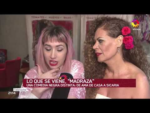 Madraza entrevistas Canal 13 Telenoche primetime