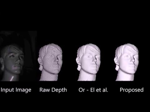 Real-Time Depth Refinement for Specular Objects