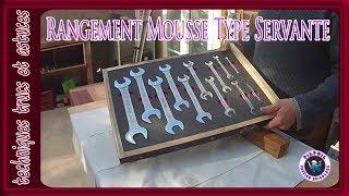 Fabrication D Un Rangement D Outils En Mousse Type Servante Diy Youtube