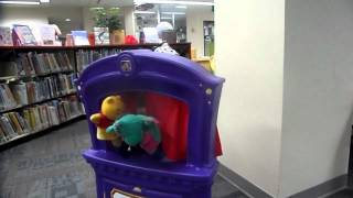 Puppet show at the Library