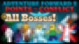 Roblox | Adventure Forward 2 | All Bosses (SPOILERS!!)