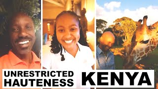 A Virtual Visit To Giraffe Manor, Lengishu House & Solio Lodge in Kenya!