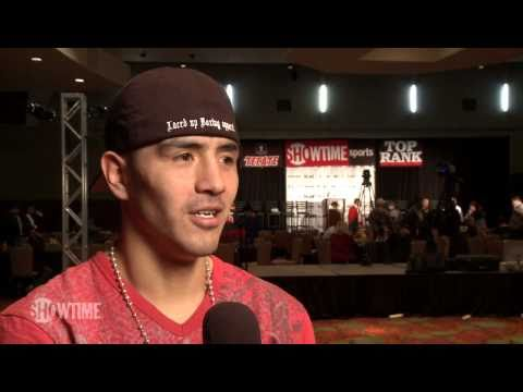 Brandon Rios: Pre-Fight Interview - Acosta vs. Rios - SHOWTIME - Sat Feb 26 10pm - Boxeo Boxing