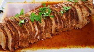 Lomo de Cerdo en Chipotle, Receta facil y rapida!