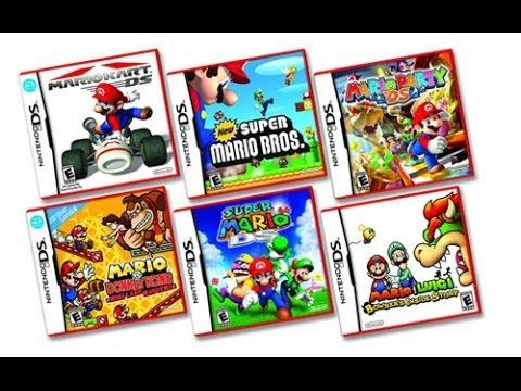 Top Los 5 Mejores Juegos De Nintendo Ds Youtube