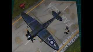 FLY NAVY - SEAFIRE (F) Mk. XV