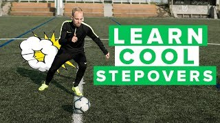5 STEP OVER VARIATIONS YOU NEED TO LEARN | Master these football skills