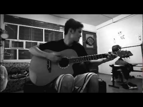 I Never Cry (Alice Cooper) - Acoustic Cover by Ticz (OTL)