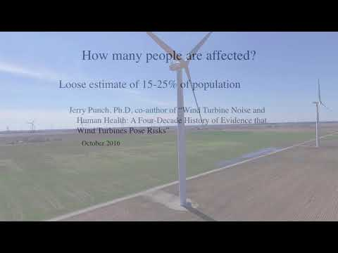 Adverse Health Effects of Industrial Wind Turbines