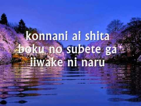 SAIGO NO IIWAKE - (Japanese Lyrics)