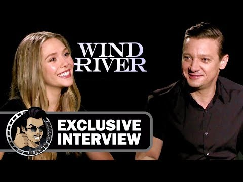 Exclusive: Elizabeth Olsen & Jeremy Renner Interview - WIND RIVER (2017) streaming vf