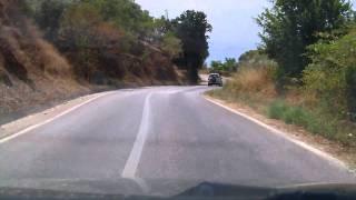 Skopelos - driving from Glossa to loutraki , 2010