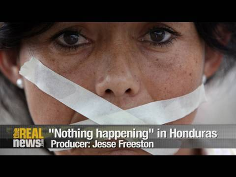 Resistance silenced in Honduras
