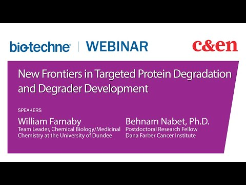 Targeted Protein Degradation Webinar | Tocris Bioscience