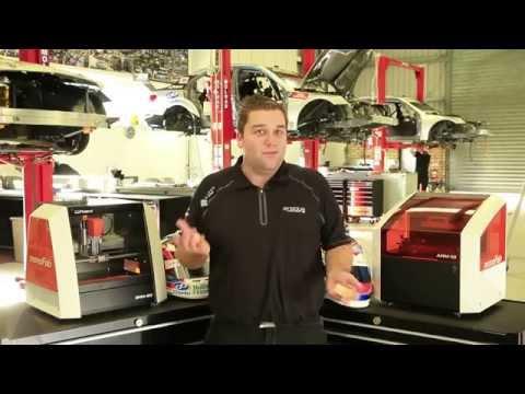 Roland Rapid Prototyping Equipment Speeds up Performance for Erebus Motorsport