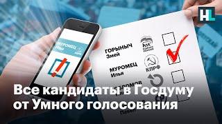 Рекомендации Умного голосования на выборах в Госдуму. Все 225 округов