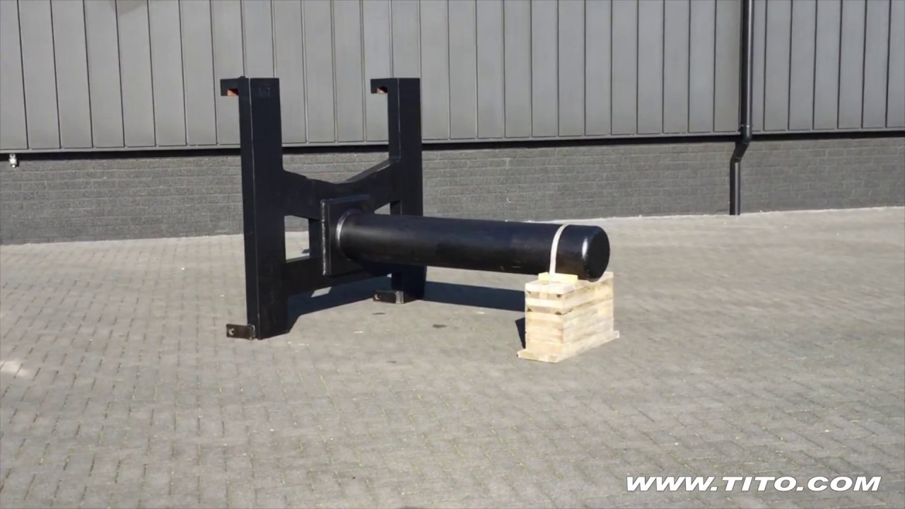 Tito Com 18 Ton Coil Ram For Hyster H18xm 12 Forklift