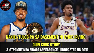 QUIN COOK STORY | 3-STRAIGHT NBA FINALS APPEARANCE | UNDRAFTED NG 2015