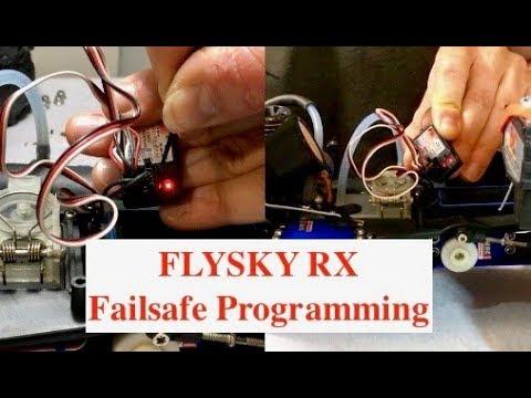 FlySky Receiver Failsafe Mode Programming
