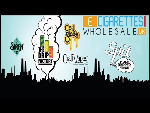 E-JUICE REVIEW - E-CIGARETTE WHOLESALE UK (VARIOUS COMPANIES)