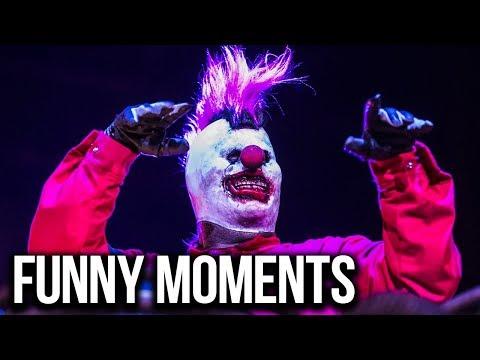 SLIPKNOT - MOST FUNNY MOMENTS 2014 - 2016