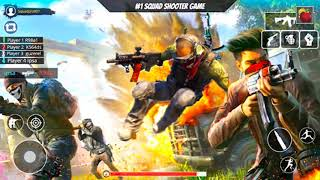 Solo vs Squad Rush Team Free Fire Battle 2021 - Android GamePlay #4
