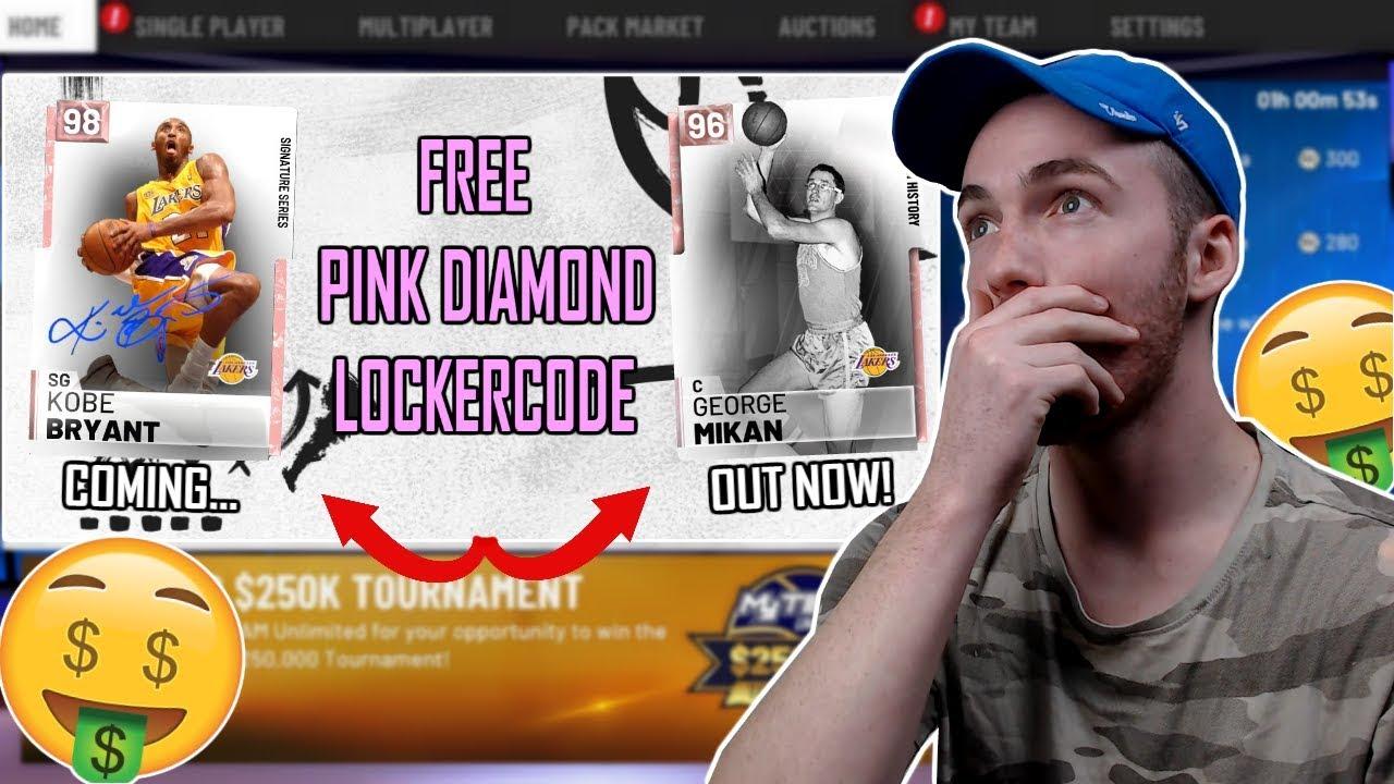 Pink Diamond Kobe 2k19