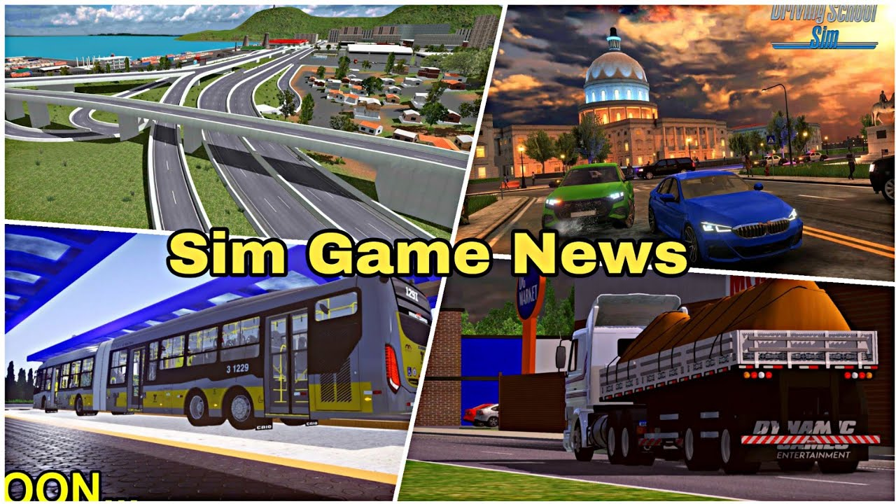 Simulator Games | News & Update - Driving School Sim, Grand Truck Simulator 2, & ETC