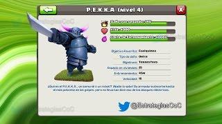 Pekka Nivel 4 | Tropas de Clash of Clans | P.E.K.K.A