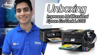 Unboxing Multifuncional Epson EcoTank L4160