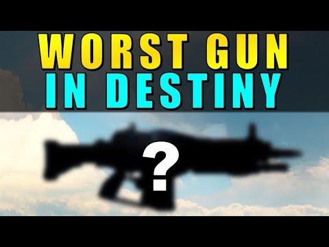 The WORST GUN in Destiny!