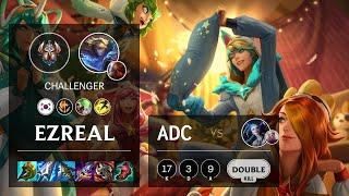 Ezreal ADC vs Jinx - KR Challenger Patch 11.11