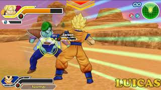 Dragon Ball Z Tenkaichi Tag Team PSP Gameplay HD Goku y Vegeta Batalla 100 Parte 8