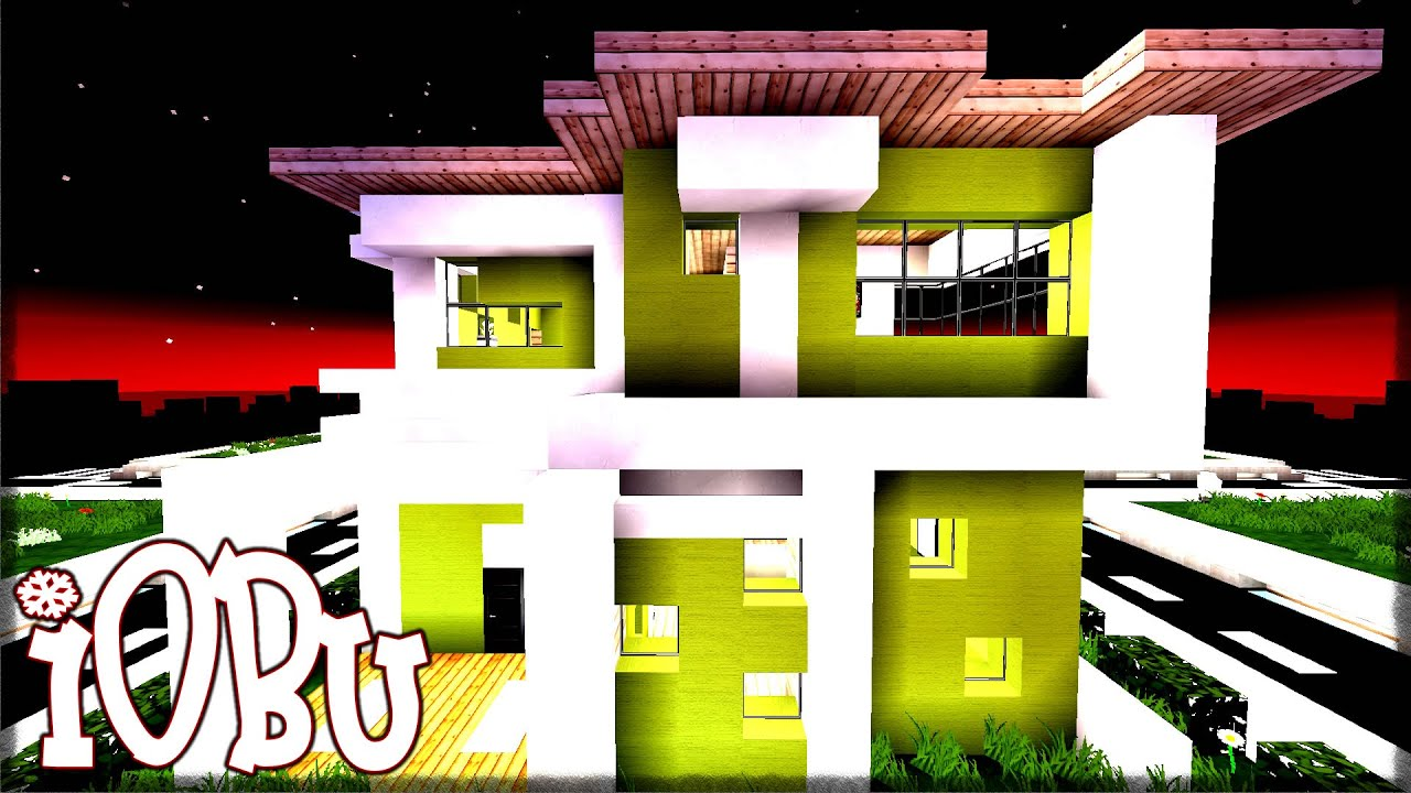 16 BY 16 MODERN HOUSE Minecraft Timelapse Lets Build
